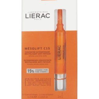 LIERAC MESOLIFT C 15 CONCENTRADO REVITALIZANTE 2X15ml