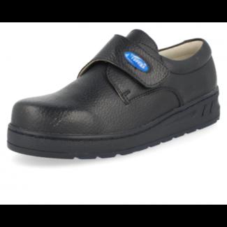 ZAPATO SANITARIO PROFESIONAL MEDIC VELCRO 04 AZUL zapato